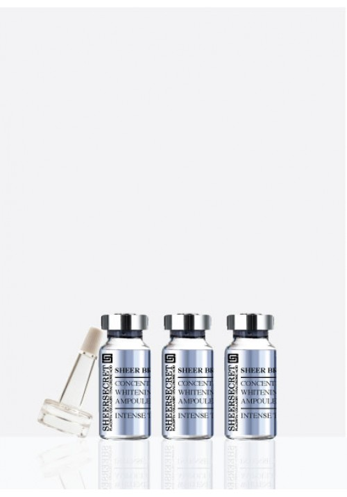 CONCENTRATED WHITENING AMPOULES  (5ml x 3 ampoules)