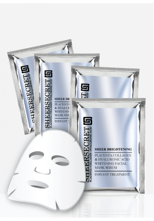 WHITENING FACIAL MASK SERUM (Box of 4 x 20g Sachets)